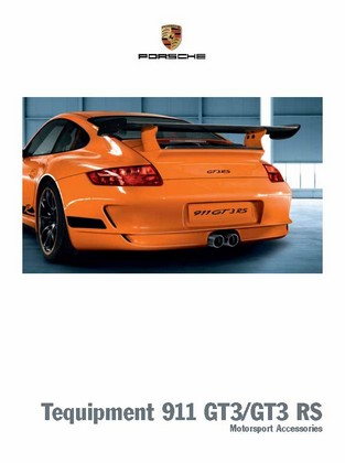 Tequipment 911 GT3/GT3 RS Motorsport Accessories